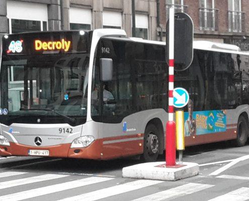 Bientôt une nouvelle ligne de bus STIB à Uccle: le bus 37 Gare de Linkebeek-Albert